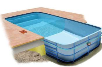 Строительство бассейна в Тюмени - композитный