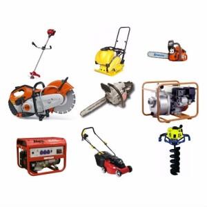 электрический инструмент и бензиновый инструмент